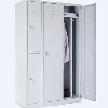 Persirengimo spintelės. Rūbų spintos su vienvėrėmis durimis. Rūbų spintelės su dvivėrėmis durimis. Rūbų spintos dviejų lygių.